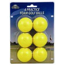 OnCourse Foam 6 pc. Practice Balls