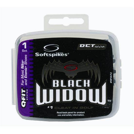 Softspikes Black Widow Classic Q-FIT Golf Spikes
