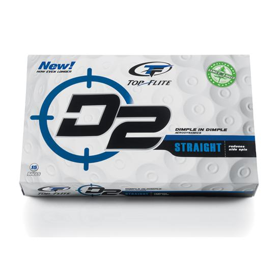 Top-Flite D2 Straight '09 Golf Balls
