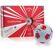 Callaway Golf Chrome Soft Truvis Golf Balls