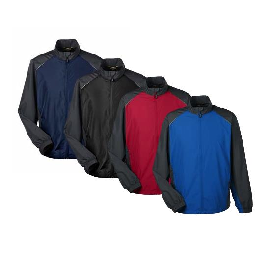 Core Basic Men's Stratus Colorblock Lightweight Jacket
