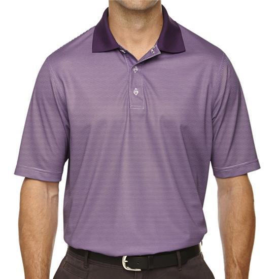 Extreme Men's Launch Snag Protection Striped Polo