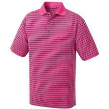 FootJoy Men's Heather Lisle Multi Stripe Knit Collar Polo