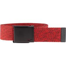 Nike Heathered Web Belt - University Red - One Size Fits Most