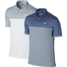Nike Men's Icon Color Block Polo Manufacturer Closeout