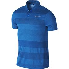Nike Men's MM Fly Swing Knit Stripe Polo