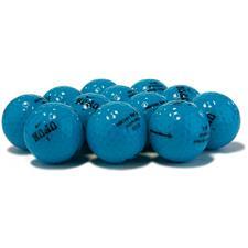 Nike Logo Overrun Mojo Lucky #7 Blue Golf Balls