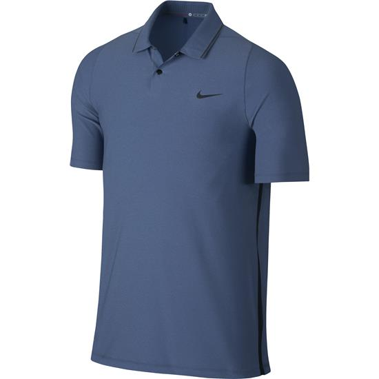 Nike Men's TW Velocity Woven Solid Polo Manf. Closeout