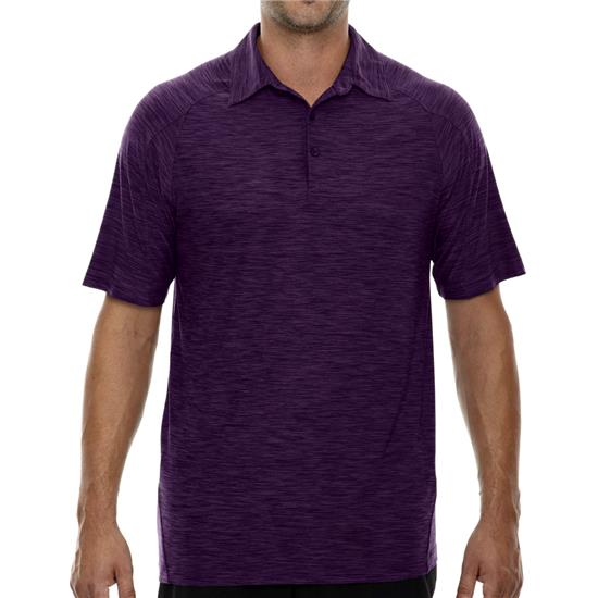 North End Men's Barcode Performance Polo
