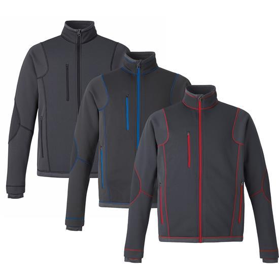 North End Men's Pulse Textured Fleece Jacket