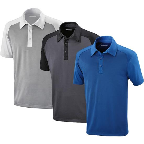 North End Men's Symmetry Coffee Performance Polo