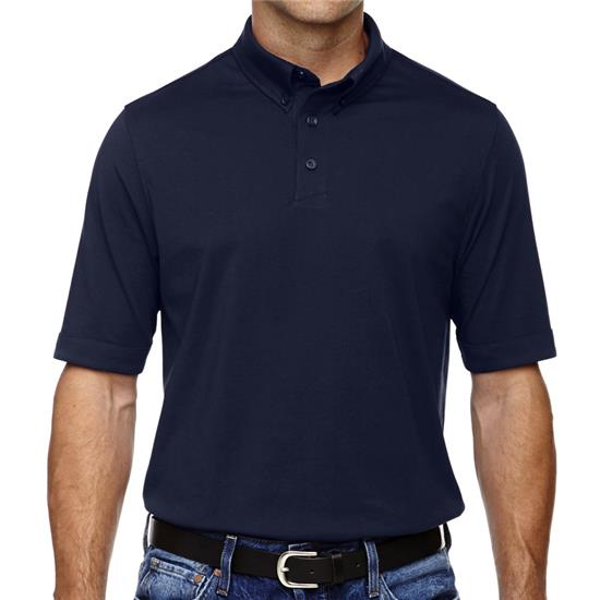 North End Men's Weekend Cotton Blend Performance Polo