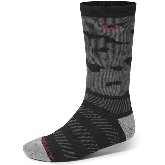 Oakley Men's Crew Print Golf Socks