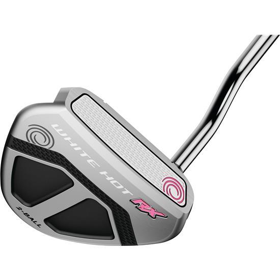Odyssey Golf White Hot RX 2-Ball V-Line Putter for Women w/ SS