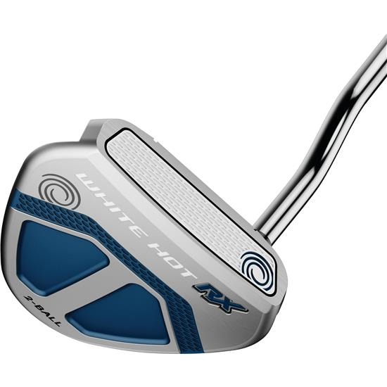 Odyssey Golf White Hot RX Putter with Super Stroke Flatso Grip