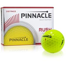 Pinnacle Custom Logo Rush Yellow Golf Balls