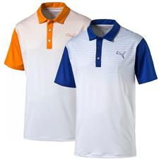 Puma Men's GT Colorblock Fade Polo