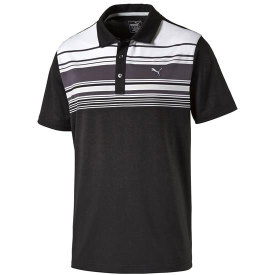 Puma Men's Short Sleeve Key Stripe Polo
