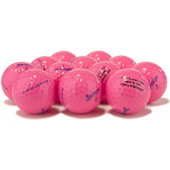 Srixon Soft Feel Lady Pink Golf Balls