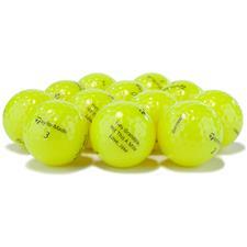 Taylor Made Logo Overrun Distance+ Yellow Golf Balls