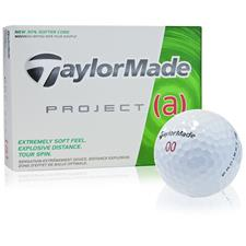 Taylor Made Project (a) Custom Logo Golf Balls