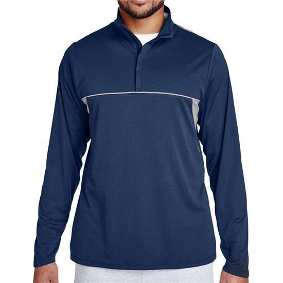Team 365 Men's Interlock Performance Quarter-Zip Jacket