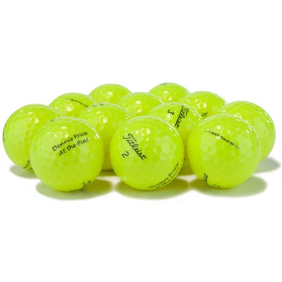 Titleist Prior Generation NXT Tour S Yellow Golf Balls
