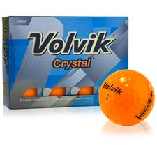 Volvik Prior Generation Crystal Orange Golf Balls