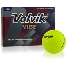 Volvik Vibe Yellow Golf Balls