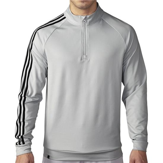 Adidas Men's 3-Stripes 1/4 Zip Layering Top