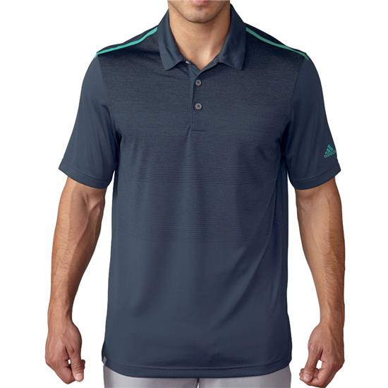 Adidas Men's ClimaCool Ombre Stripe Polo