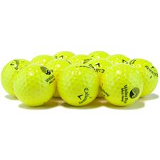 Callaway Golf Logo Overrun Prior Generation Warbird Yellow Golf Balls
