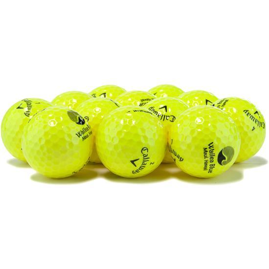 Callaway Golf Prior Generation Warbird Yellow Golf Balls