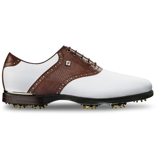 FootJoy Men's Icon Black Lizard Print Golf Shoes