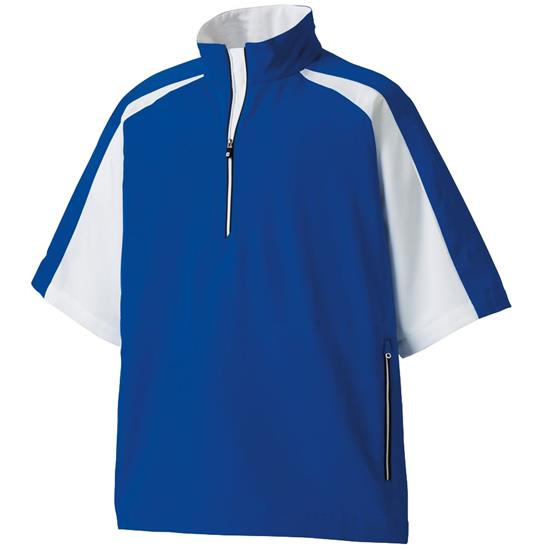 FootJoy Men's Sport Short Sleeve Custom Logo Windshirt