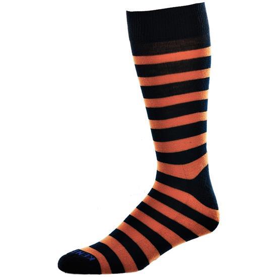 Kentwool Men's 19th Hole Stripe Crew Socks