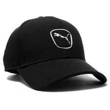 Puma Men's Cat Patch 2.0 Adjustable Personalized Hat - Black-White