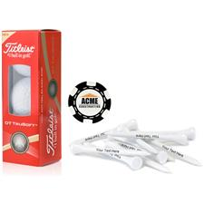 Titleist Custom Logo Custom Logo Sleeve, Chip Marker and Tee Kit