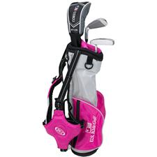 U.S. Kids Ultralight 39 Inch 3-Club Bag Junior Set for Girls