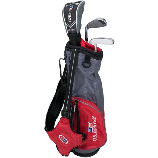 U.S. Kids Ultralight 39 Inch 3-Club Stand Bag Junior Set