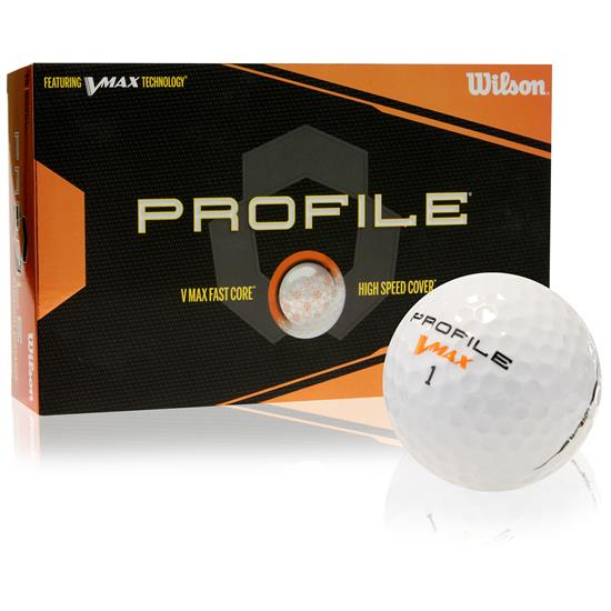 Wilson Profile V-Max Distance Golf Balls - 15 Pack