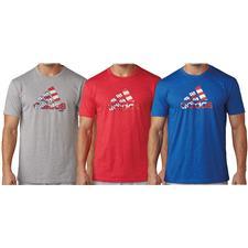 Adidas Men's Team USA Stars and Stripes Adi Logo Tee