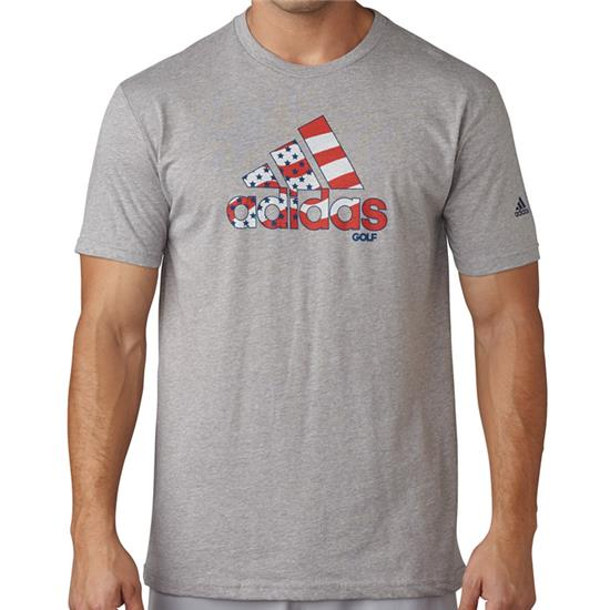 Adidas Men's Team USA Stars and Stripes Adi Logo Tee