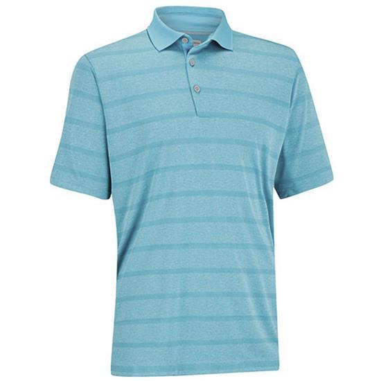 Ashworth Men's Plaited Stripe Golf Polo Closeout