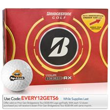 Bridgestone Custom Logo Prior Generation Tour B330-RX Golf Balls