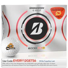 Bridgestone Prior Generation Tour B330-RXS Logo Golf Balls