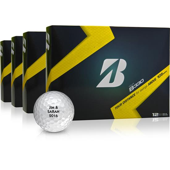 Bridgestone Tour B330 Golf Ball - Buy 3 DZ Get 1 DZ Free