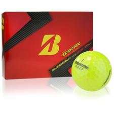 Bridgestone Custom Logo Tour B330-RX Optic Yellow Golf Balls