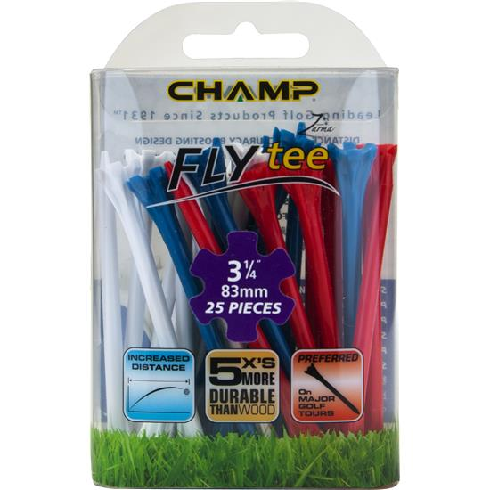 Champ Golf Zarma FLYtee - 3 1/4 Inch - 25 CT
