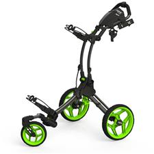 Clicgear Rovis RV1S Swivel Push Cart - Charcoal-Lime